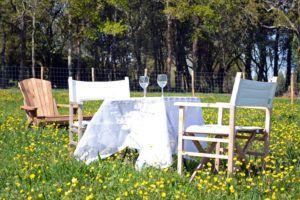 Déjeuner sur l'herbe aux Hauts de Toulvern