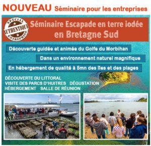 Séminaire escapade en terre iodée en Bretagne Sud