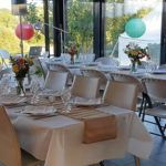 Des tables accueillantes