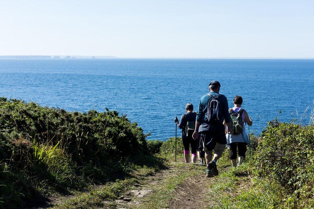 Activités pour les groupes dans le Golfe du Morbihan Randonnées © Martin VIEZZER CRT