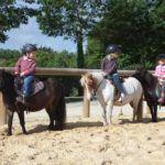 Cours au centre équestre de Baden