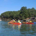 Balade de Jackie et Varec'h Kayak