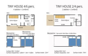 Plan Tiny House 4/6P ou 2/4P