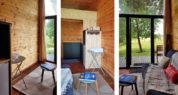 Tiny House 2/4P : vues de l'intérieur