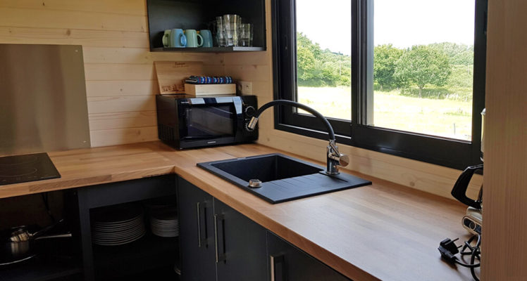 Tiny House 4/6P : cuisine