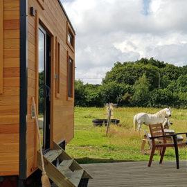 Tiny House hébergement insolite écologique en pleine nature