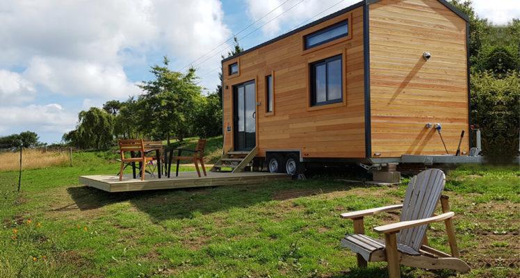 Tiny House 4/6P : un hébergement écologique en pleine nature
