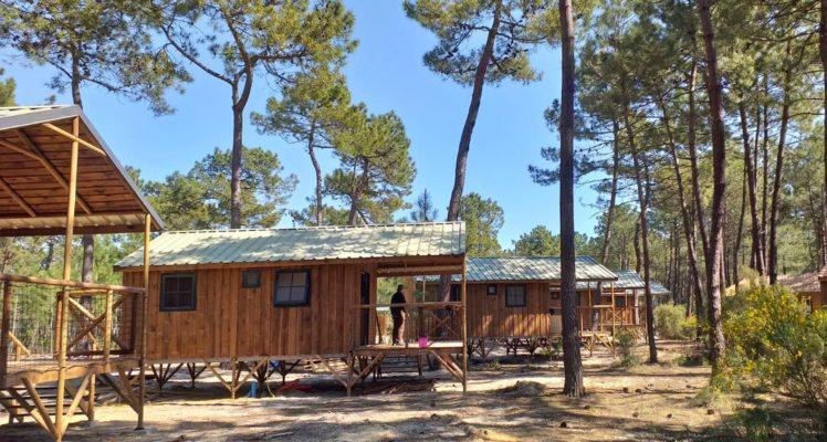 Cabane sur pilotis hébergement insolite tout confort