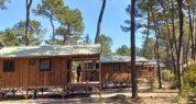 Cabane sur pilotis : exemple de cabane, photo non contractuelle
