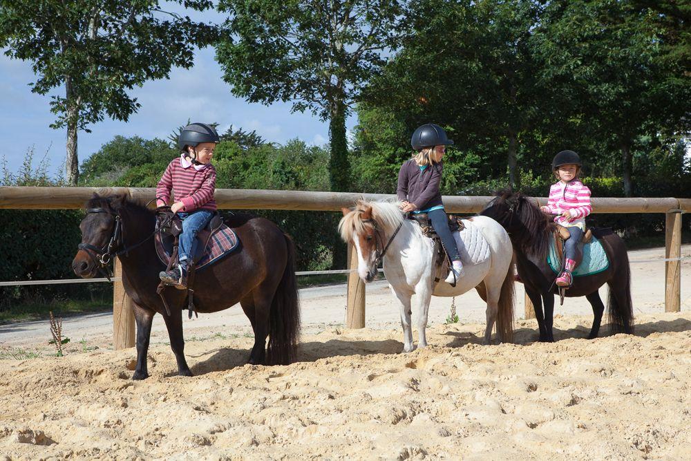Equitation au centre équestre de Baden